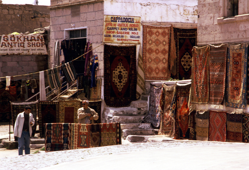 carpet shop near underground city