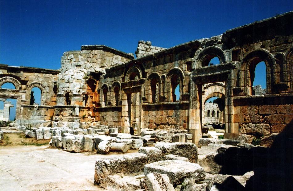 Qala'at Samaan 10