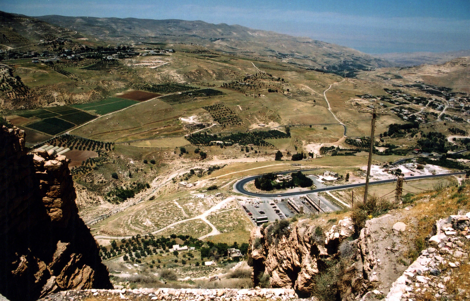 below Karak Castle
